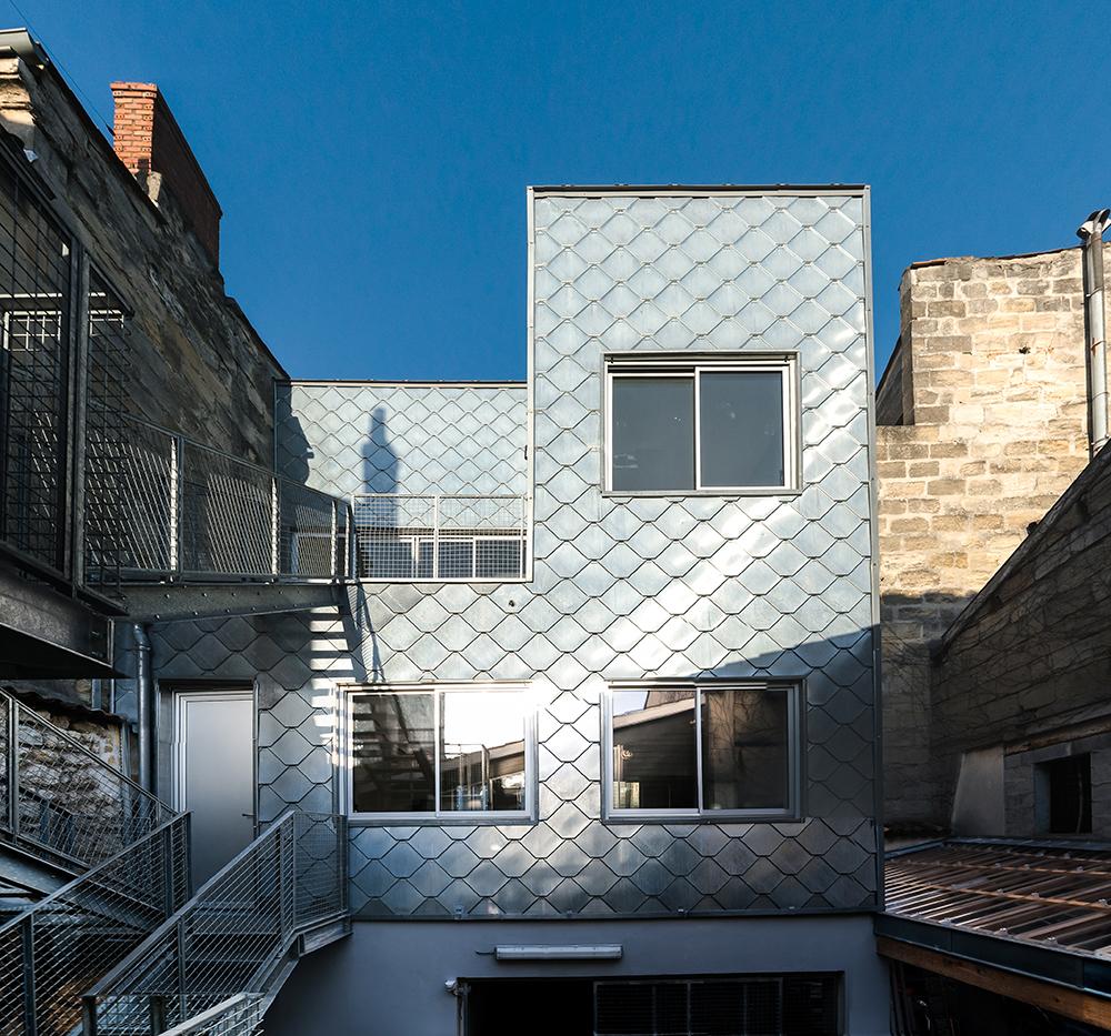 Immeuble rue Borie a Bordeaux